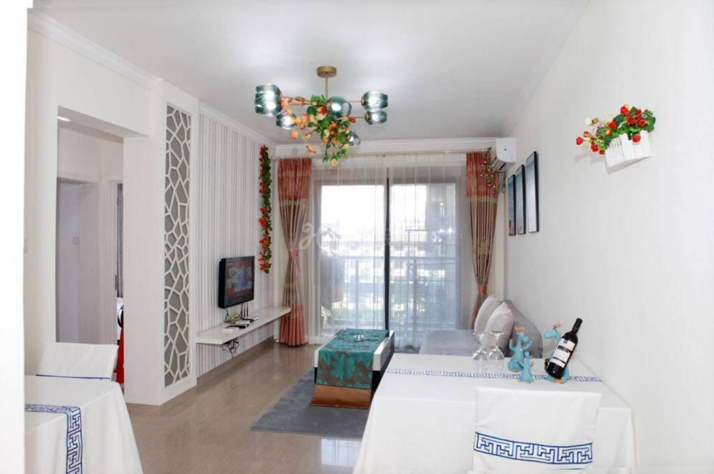 大东海金茂花园精致简洁两室一厅套房