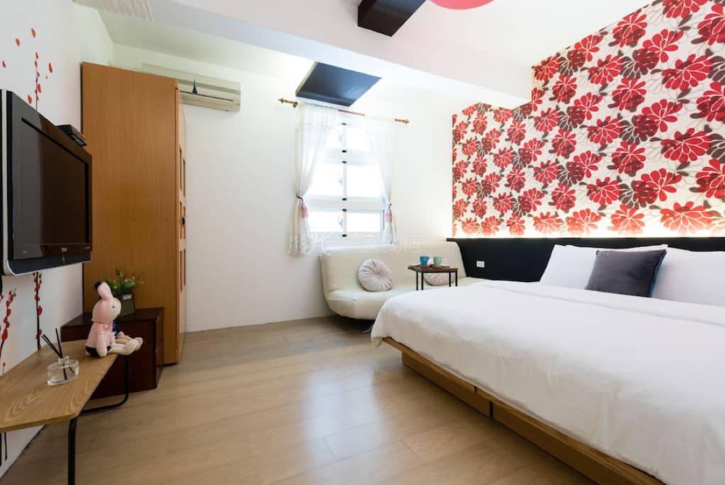 罗东窝旅店-花漾2-4人套房-离罗东火车站,夜市走路三分鐘