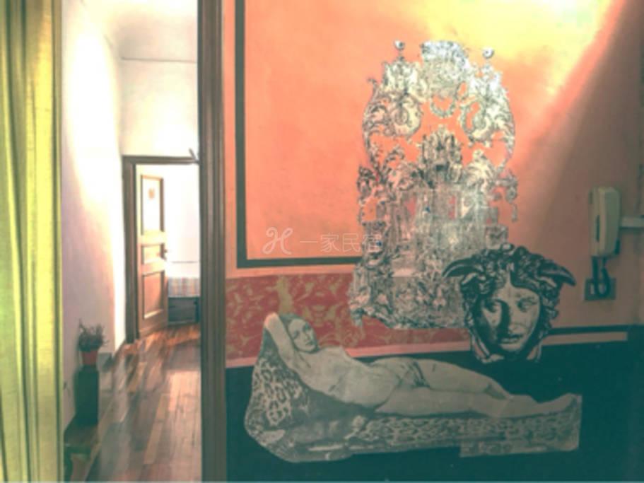 佛罗伦萨历史中心区 意式双床间