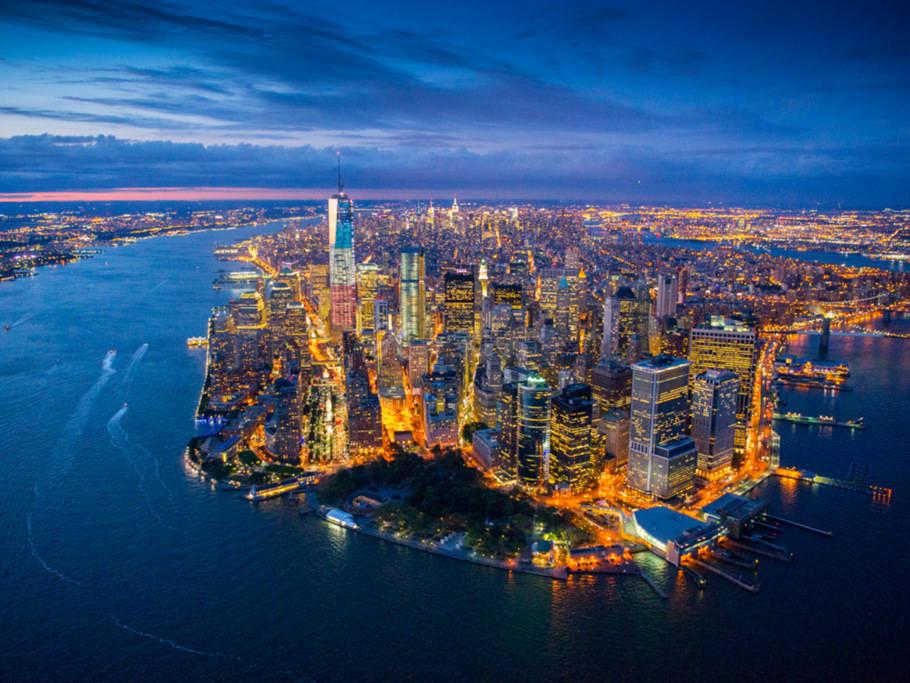 曼哈頓上西區哥大中央公園嶄新時尚溫馨臥室