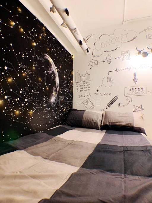星空双人大床房(1.2米)