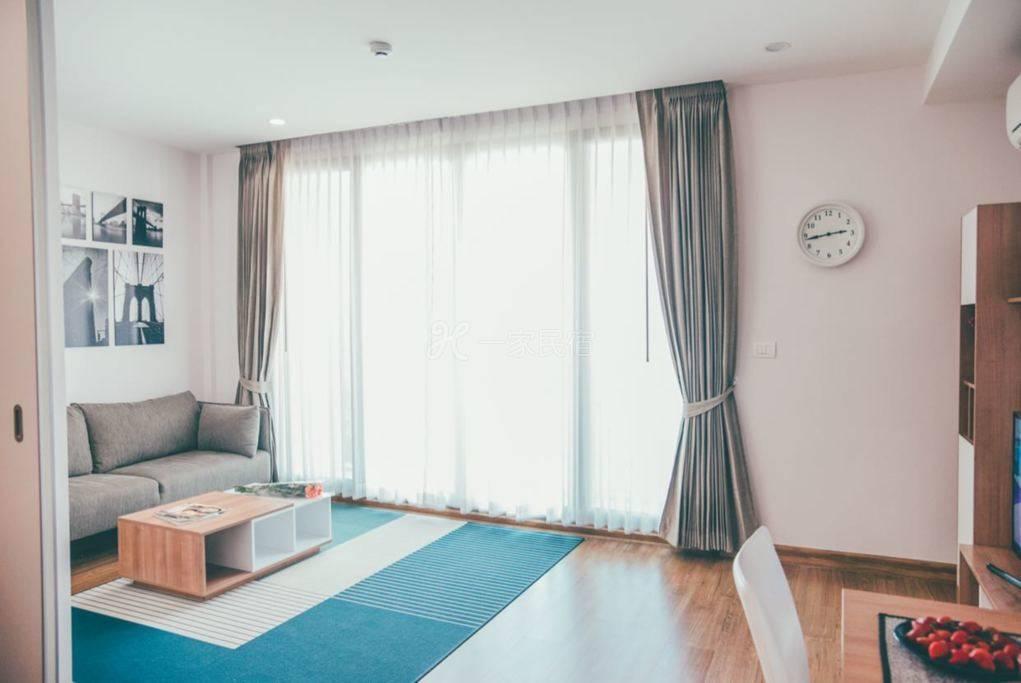 清迈宁曼路全新高端公寓一室一厅