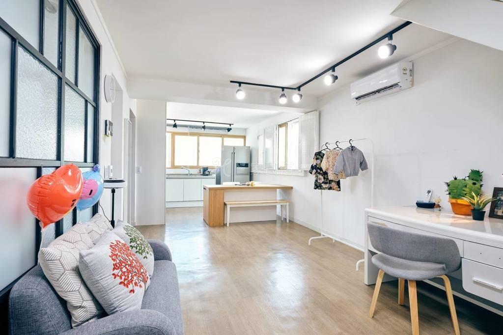 复式公寓@忠武路推窗可望首尔塔/花园阳台/家庭出行可住6人/近地铁-CMR-ICN002