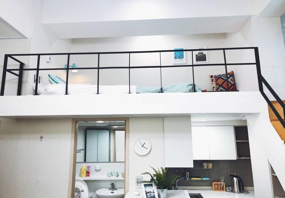 【hiii】Loft公寓@忠武路/首尔塔下/明洞商业街/交通近地铁/拎包入住-ICN005