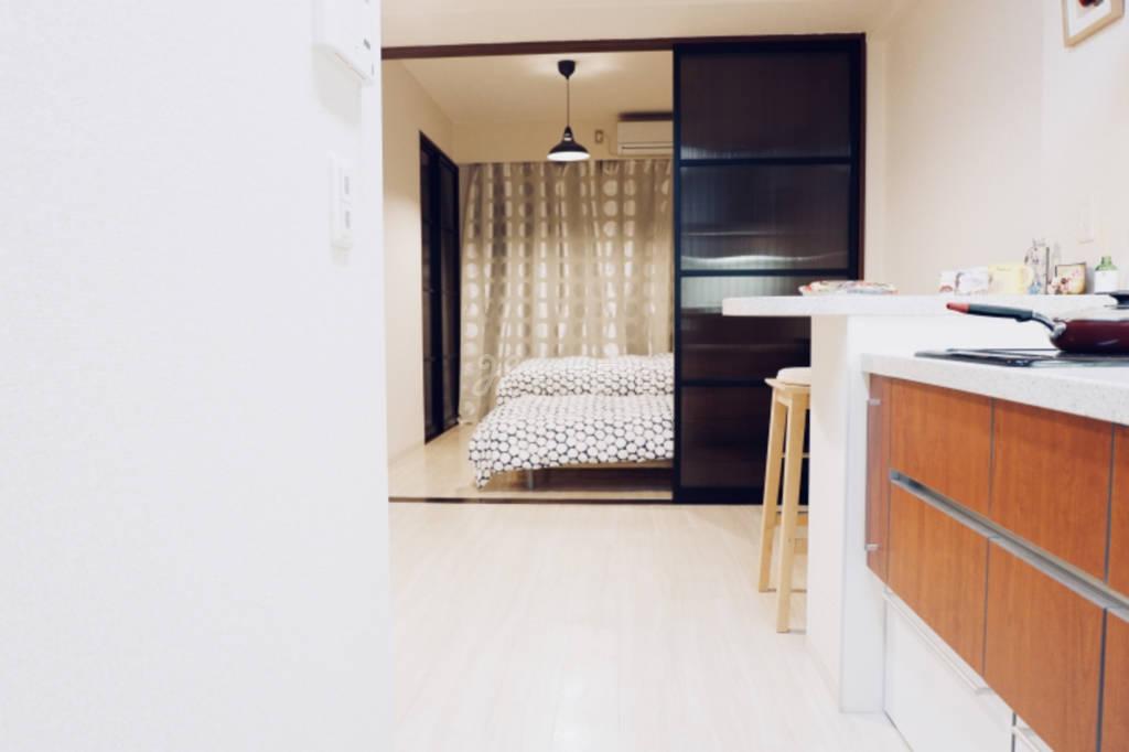 大阪日本桥岛之内温馨公寓最多4人入住