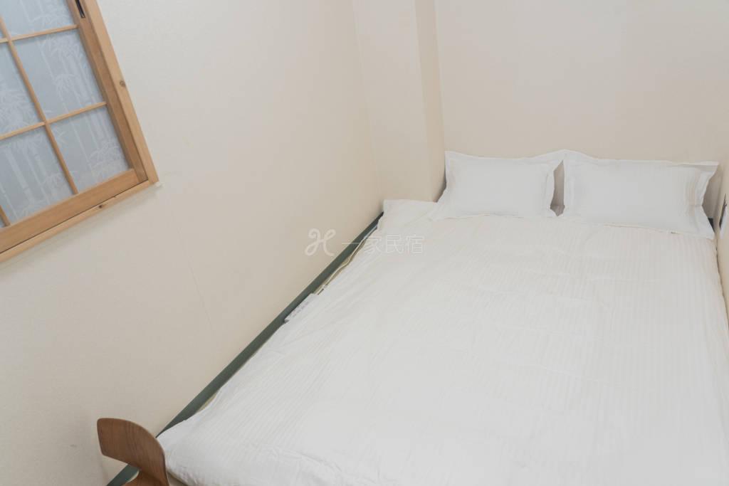 303大国要荘 日式双人床型~位於难波旁
