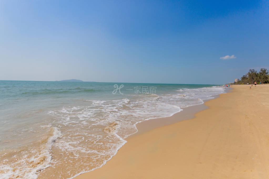 天蓝|三亚湾椰梦长廊一线海景大一居可做饭距海50米