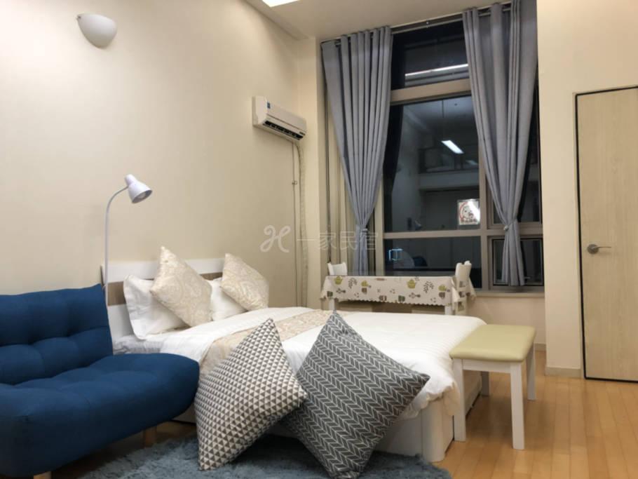 首尔市中心复式单身公寓A