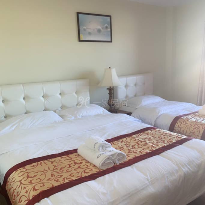 海滨路豪华公寓单人房双人房三人房29.5美金起一晚。