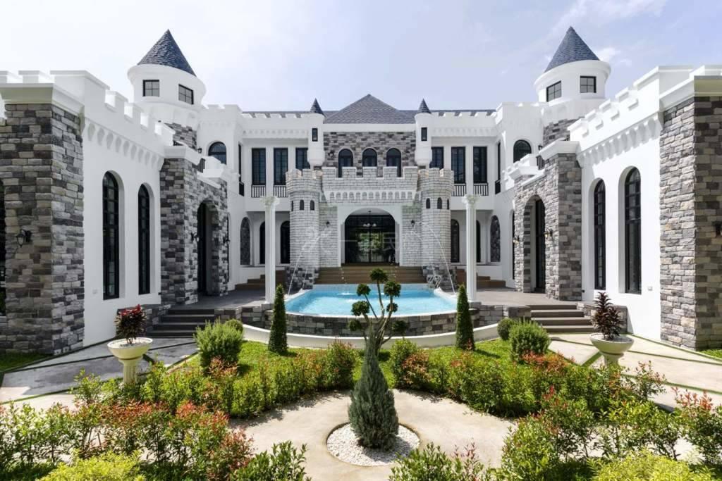清迈迪斯尼城堡超豪华私人泳池别墅