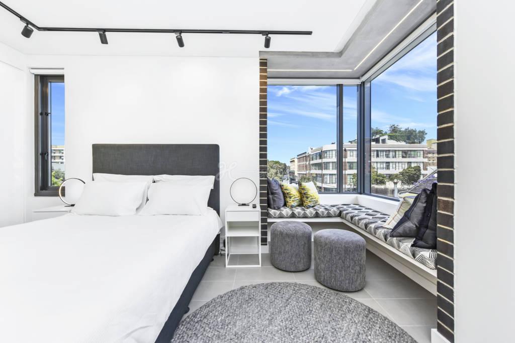 悉尼市边全新明亮现代风格大开间整套出租