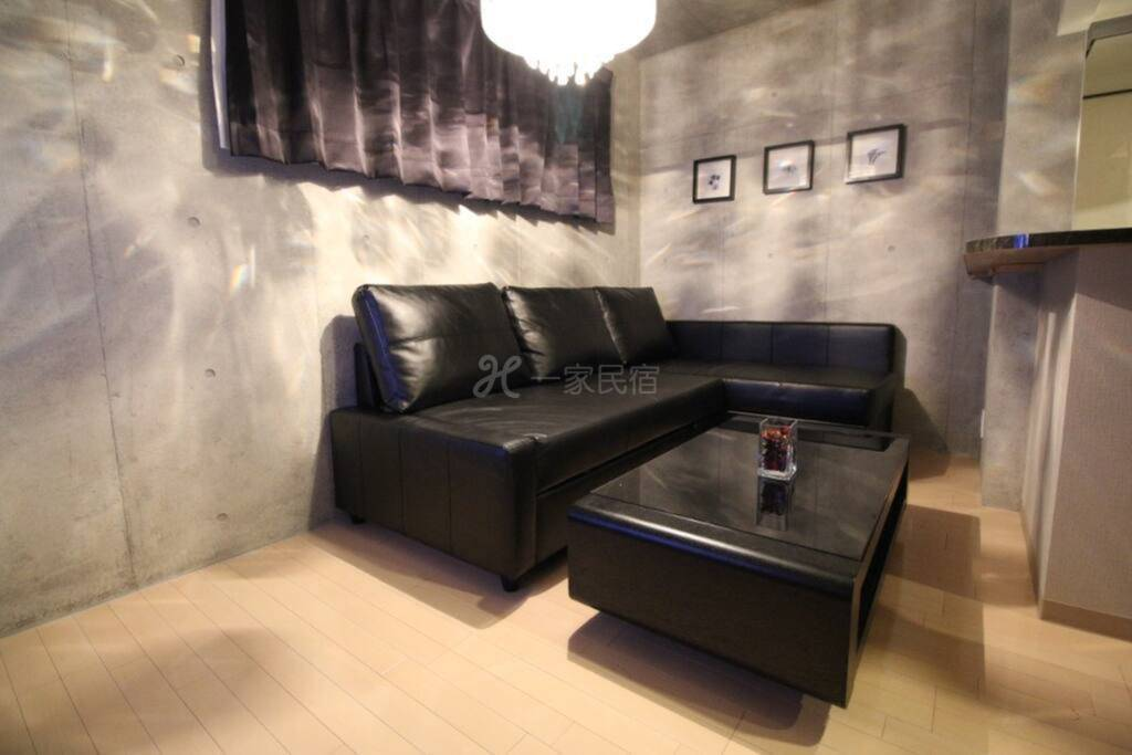 #402东京新宿区步行车站5分钟  两室一厅loft公寓