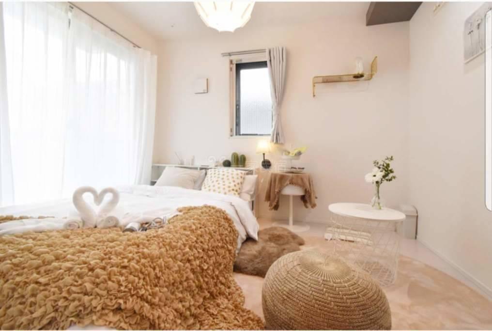 东京涩谷环山手线新建一栋独立卫卫生间的大床房