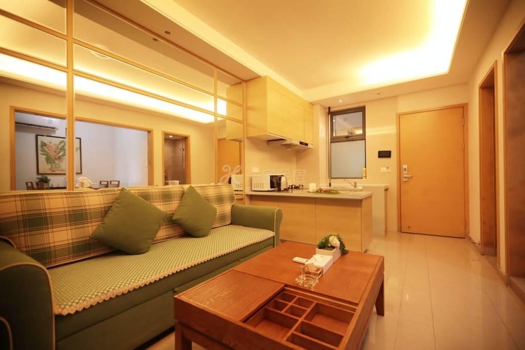 自在旅居公寓-三亚湾凤凰水城舒适园景单卧套房