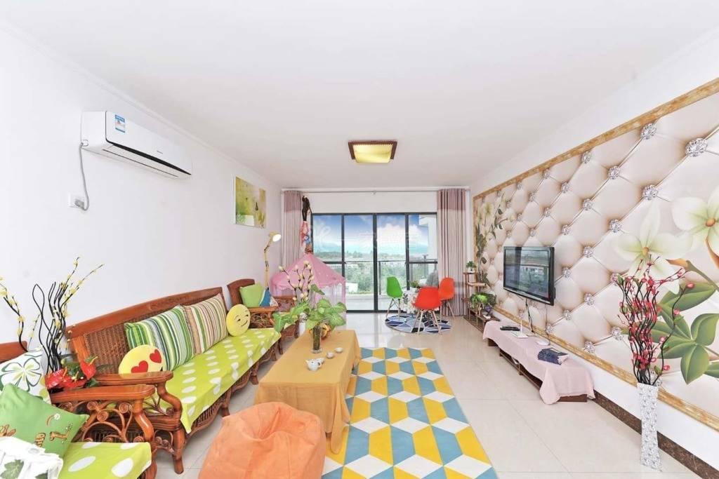 全海景房2室1厅三张大床性价比超高。